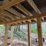 Support Beams for Deck