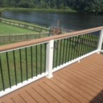 Railing with Black Spindles
