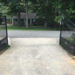 Aluminum Gate Open