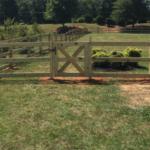 Pastoral Fence Gate