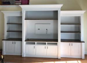 Greensboro Built-In Shelves