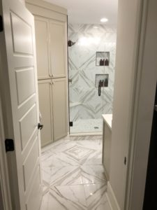 Large Square Marble Tile Floors