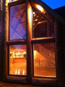 Log Home Windows 2