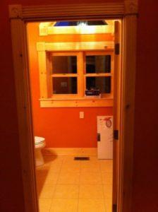 Log Home Bathroom 1
