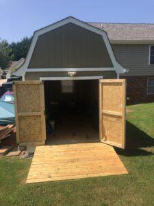 Double Wide Doors with Ramp