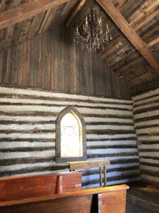 Walls of Chapel